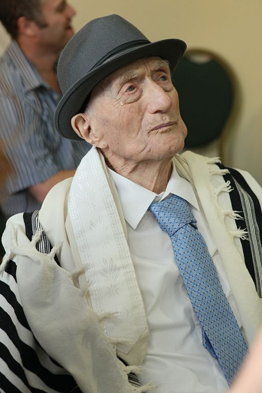 Oldest man in the World Yisrael Kristal aged 113 died in Israel