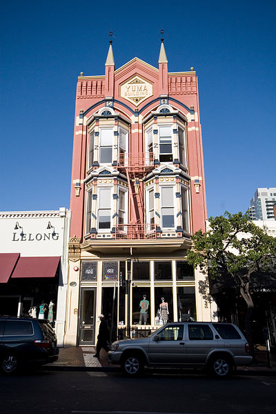 File:Yuma building, gaslamp, downtown san diego.jpg