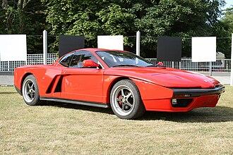 Ferrari Testarossa - The FZ93 at the 2010 Goodwood Festival of Speed.