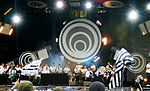 Création originale pour la 20e édition du festival des Vieilles Charrues le 27 juillet 2011.