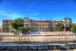 Zgrada starog Načelstva - zgrada Univerziteta u Nišu.jpg