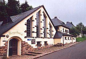 Ore Mountain Mining Region - Vereinigt Zwitterfeld zu Zinnwald, tin mining museum in Altenberg