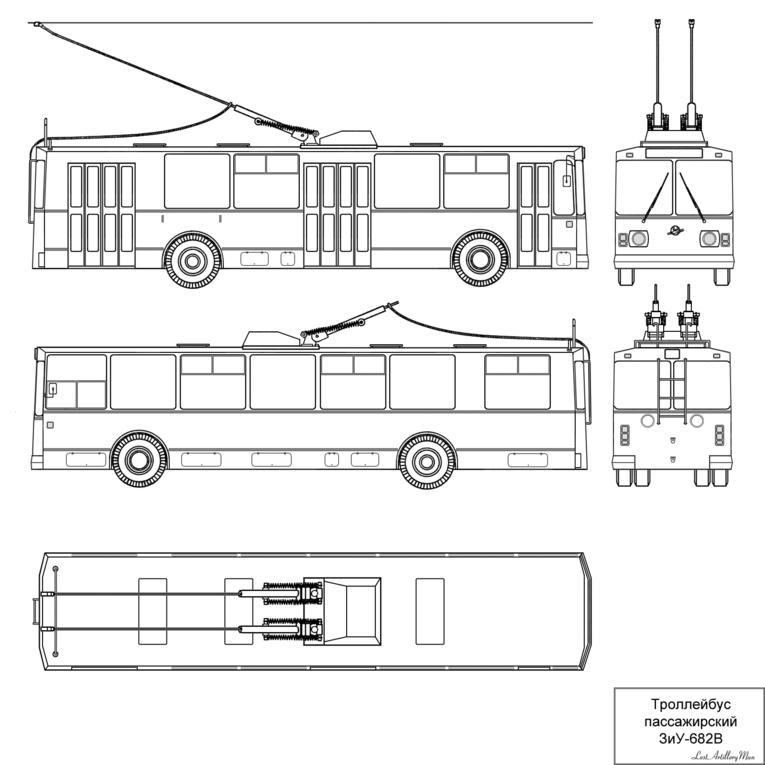 троллейбуса (на примере