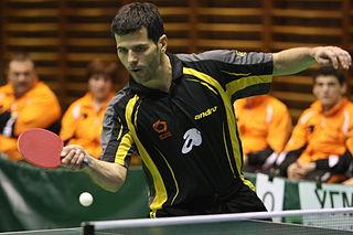 Zoran Primorac Croatian table tennis player