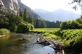 Kings River (California) - The South Fork Kings River at Zumwalt Meadow