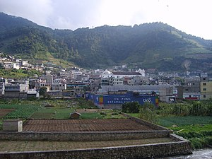 Zunil - Image: Zunil panorama