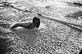 Zwemmen Duitsland tegen Nederland te Dortmund 400m estafette Adri Lasterie , Fi, Bestanddeelnr 915-5772.jpg