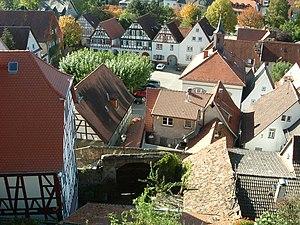 Zwingenberg, Hesse - Image: Zwingenberg 01