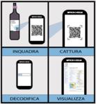 """13 QR CODE ITA LANG - Chianti DOGC wine bottle code scan smartphone - qr code steps.png"