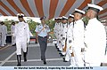 """""""Air Marshal Sumit Mukherji, inspecting the Guard on board INS Tir"""" photo, from- Navy extends farewell to Air Officer Commander in Chief, Southern Air Command in 2011 (page 1 crop).jpg"""
