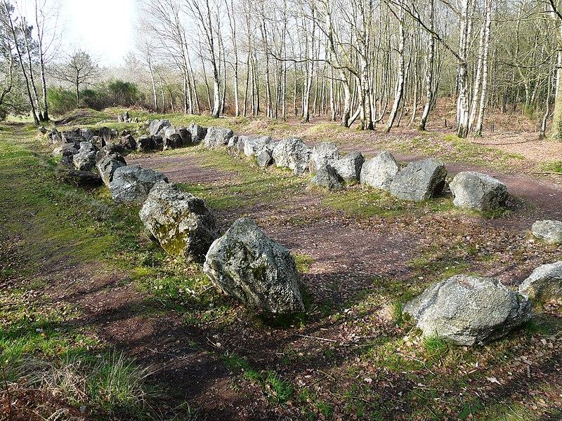 """""""Jardin aux Moines"""" (reste d'allée couverte mégalithique)"""