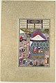 """The Marriage of Sudaba and Kai Kavus"", Folio 130r from the Shahnama (Book of Kings) of Shah Tahmasp MET DP107136.jpg"