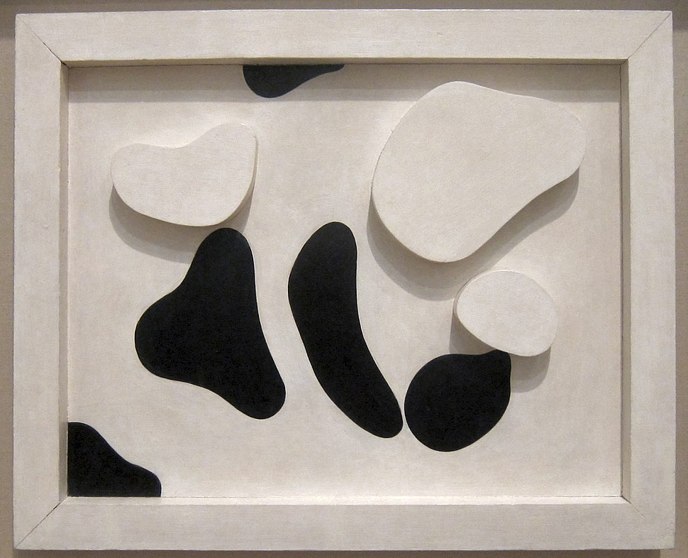 'Constellation According to the Laws of Chance' by Jean Arp (Hans Arp), Tate Modern