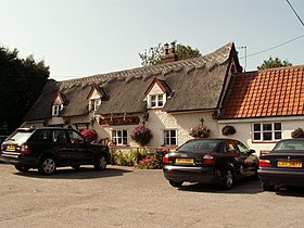 'The Crown' inn, Stowupland, Suffolk - geograph.org.uk - 234648.jpg