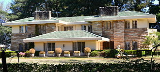 Pymble, New South Wales - Walter Burley Griffin home Coppins