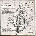 (1737) Delineatio munimenti et Portus S.AUGUSTINI by Homann Heirs.jpg