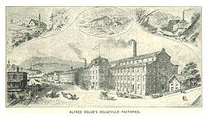 Dolgeville, New York - Alfred Dolge's DOLGEVILLE (c.1890)
