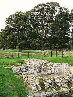 (Part of) the West Gate at Chesters Fort - geograph.org.uk - 1020871