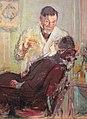 Édouard vuillard, il dottor georges viau nel suo gabinetto dentistico (george viau che cura annette roussel), 1914, 03.JPG