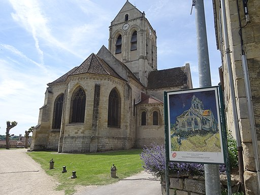 """""""The Church at Auvers"""" by Vincent van Gogh"""