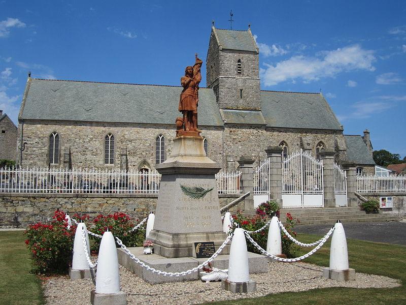 église Saint-Amand de Virandeville, Manche