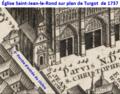 Église Saint-Jean-le-Rond sur plan Turgot.png