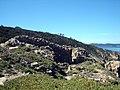 Île du Levant. Castelas. Ruines 1.jpg