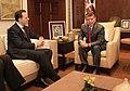 Περιοδεία ΥΠΕΞ, κ. Δ. Δρούτσα, στη Μέση Ανατολή - Αμμάν, 17.10.2010 Συνάντηση με Α.Μ. Βασιλέα Abdullah II (5092110497).jpg