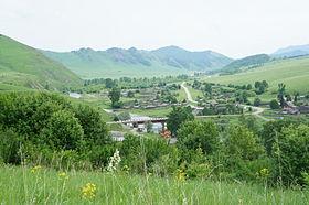 Ануйский хребет. Село Искра. Солонешенский район