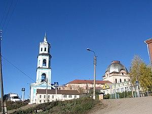 Sunsky District - Church of the Ascension (1786), village of Suna, Sunsky District