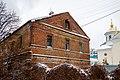 Западный городок, 1, западный фасад, 2021-01-02.jpg
