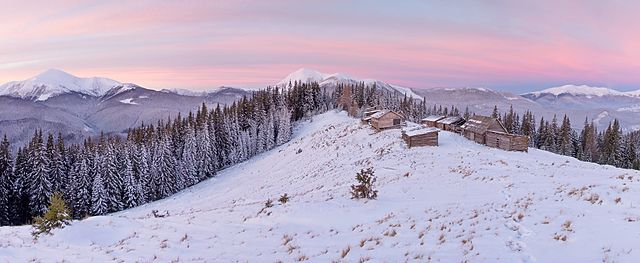 Eleventh prize: Mount Kukul, Carpathian National Park, Ivano-Frankivsk Oblast & Carpathian Biosphere Reserve, Zakarpattia Oblast, Ukraine | by Volodymyr Khirash (Хіраш Володимир)