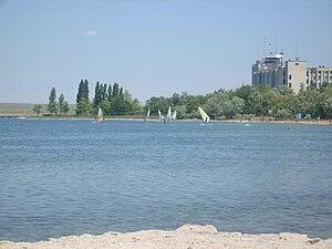 Donuzlav - Donuzlav Lake near Novoozerne