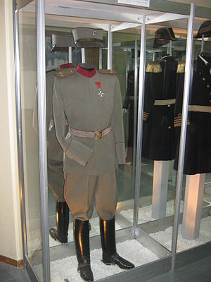 Royal Yugoslav Army - Royal Yugoslav Army officers' uniform