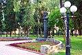 Пам'ятник-погруддя російському поету і письменнику О.Пушкіну.1481.JPG