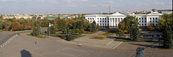 Main square of Kramatorsk