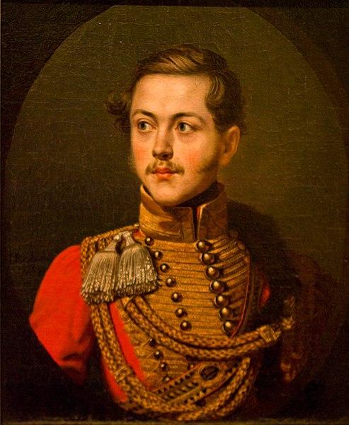 Портрет Олексія Олексійовича Бобринського