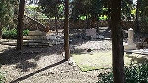 Herbert Bentwich - Bentwich Cemetery in Mount Scopus in Jerusalem