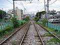都電雑司が谷駅から鬼子母神前方面を眺める - panoramio.jpg