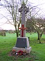-2020-12-13 Parish war memeorial, Saint Andrew's churchyard, Bacton.JPG