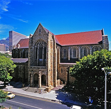 St George's Anglican Cathedral is one of the largest and oldest religious sites in the city. 00000-St Georges Cathedral-Cape Town-s.jpg