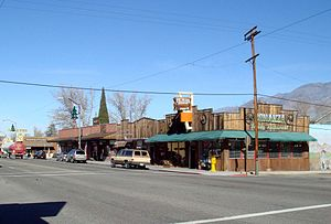 Lone Pine, California - Main Street