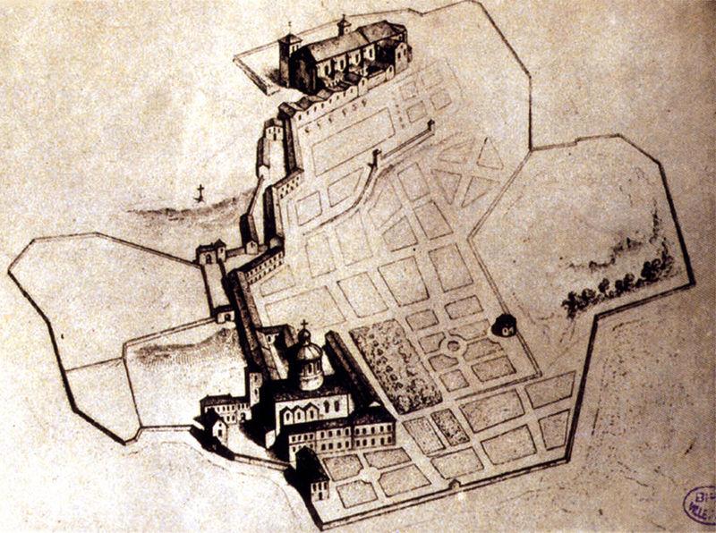 Fichier:01 Abbaye au XVIIe siecle.jpg