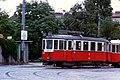 024L33050876 Schüttaustraße Wagramerstraße, Strassenbahn, Typ M 4030, Linie 26, (Notbetrieb Kaisermühlen Stadlau).jpg