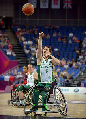 Bridie Kean - Kean at the 2012 London Paralympics