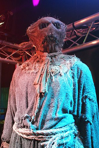 Human Nature (Doctor Who) - The scarecrows from the episode as they appear at the Doctor Who Experience.