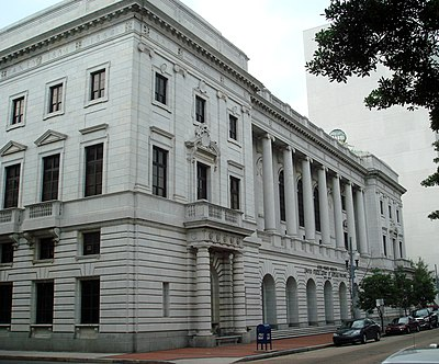 The John Minor Wisdom U.S. Courthouse, home of the Fifth Circuit, New Orleans. 053107-5thCircuit.jpg