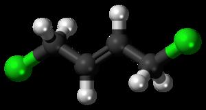 1,4-Dichlorobut-2-ene - Image: 1,4 Dichlorobut 2 ene 3D balls