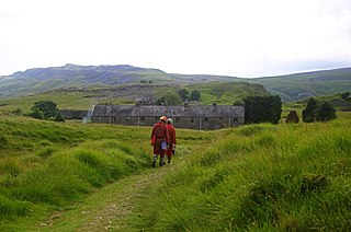 Penwyllt hamlet in the county of Powys, Wales