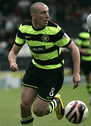 PFA Scotland Players' Player of the Year - Scott Brown was the 2009 winner.